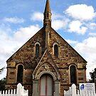 St Paul's Presbyterian Church - Hill End NSW Australia by Bev Woodman