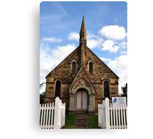 St Paul's Presbyterian Church - Hill End NSW Australia Canvas Print