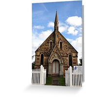 St Paul's Presbyterian Church - Hill End NSW Australia Greeting Card