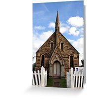 St Paul's Presbyterian Church - Hill End NSW Australia Greeting Card