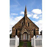 St Paul's Presbyterian Church - Hill End NSW Australia Photographic Print
