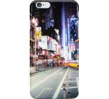 Times Square and Broadway at Night - New York City iPhone Case/Skin