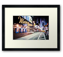 Times Square and Broadway at Night - New York City Framed Print
