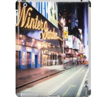 Times Square and Broadway at Night - New York City iPad Case/Skin