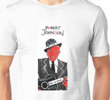 Robert Johnson Blues Folk Art Unisex T-Shirt