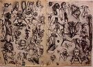 Sketchbook Diary 1982 by John Dicandia ( JinnDoW )