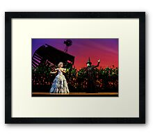 Jemma Rix and Lucy Durack in Wicked (Horizontal) Framed Print