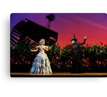 Jemma Rix and Lucy Durack in Wicked (Horizontal) Canvas Print
