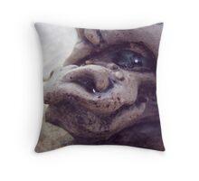 Borus the timid Throw Pillow