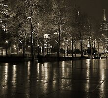 Southbank Reflections - Sepia by Stephen Horton