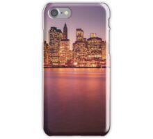 New York City Night Skyline iPhone Case/Skin