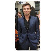 Sebastian Stan in a suit iPhone Case/Skin