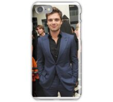 Sebastian Stan in a suit iPhone Case/Skin