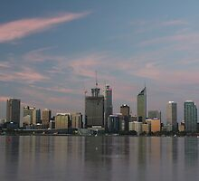 Perth City Reflections  by Stephen Horton