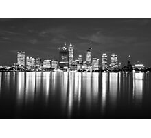 Perth City Reflections Photographic Print