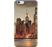 Chrysler Building and New York City Skyline iPhone Case/Skin