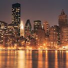 New York at Night by Vivienne Gucwa