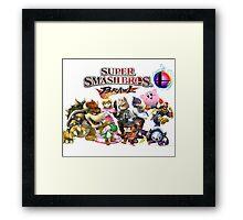 Super Smash Bros Brawl Framed Print
