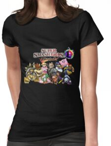 Super Smash Bros Brawl Womens Fitted T-Shirt