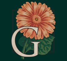 G is for Gerbera - patch by Stephanie Smith