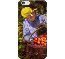 The Apple Picker iPhone Case/Skin