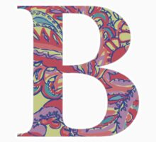The Letter B - Lily Style T-Shirt