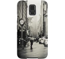 Rain on 5th Avenue - New York City Samsung Galaxy Case/Skin