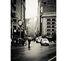 Rain on 5th Avenue - New York City Photographic Print