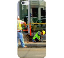 Give Or Take A Foot, Dig? iPhone Case/Skin