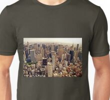 New York City From Above Unisex T-Shirt