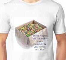 Superhero Socks Unisex T-Shirt