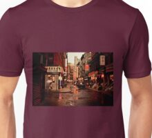 Rainy Afternoon - Chinatown - New York City Unisex T-Shirt