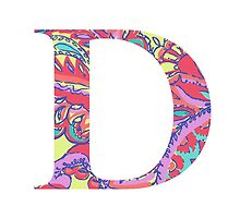 The Letter D - Lily Style by MarcoD