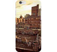 Rooftop Graffiti - Chinatown - New York City iPhone Case/Skin
