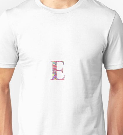 The Letter E - Lily Style Unisex T-Shirt