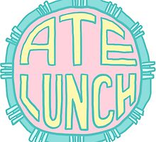Spoonie Achievement:  Ate Lunch by spooniestickers