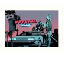 Hotline Miami 2: Wrong Number Art Art Print