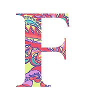 The Letter F - Lily Style by MarcoD