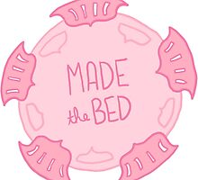 Spoonie Achievement:  Made the Bed by spooniestickers