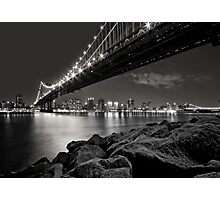 Sleepless Nights And City Lights Photographic Print