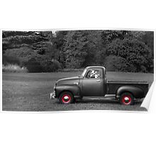 1949 Chevy 3100 Pickup Truck Poster