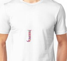 The Letter J - Lily Style Unisex T-Shirt
