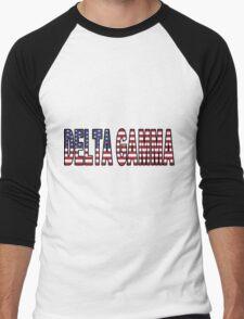 Delta Gamma America Men's Baseball ¾ T-Shirt