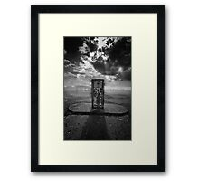 Out of Gas..... Framed Print