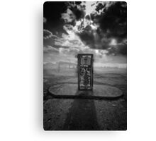 Out of Gas..... Canvas Print