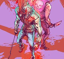 Hotline Miami 2: Wrong Number Design by RBTOENESSX