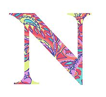 The Letter N - Lily Style by MarcoD
