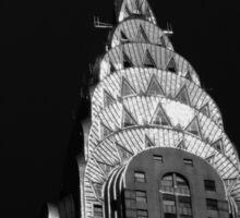 The Chrysler Building - New York City Sticker