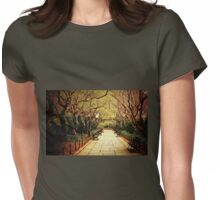 Urban Forest Primeval - Spring - Central Park Womens Fitted T-Shirt