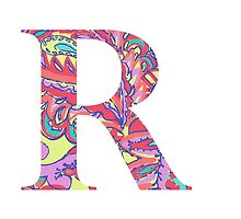 The Letter R - Lily Style by MarcoD